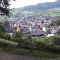 Blick aufs Dorf Ormalingen