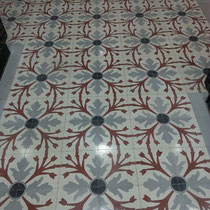 recuperación de suelos de mosaico antiguo