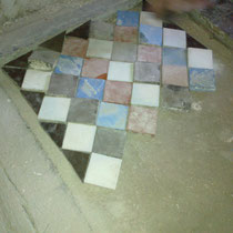 restauracion de mosaico de nolla