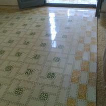 restauración de suelos de mosaico hidraulico