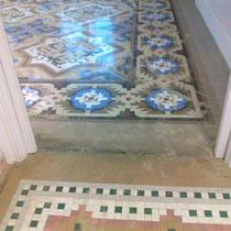 restauración suelos de nolla