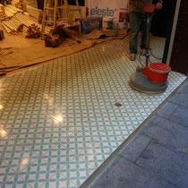 pulidores de suelo de mosaico antiguo en barcelona