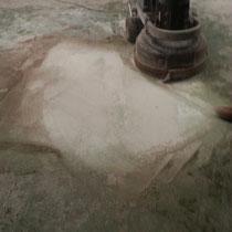 limpieza suelo de hormigon