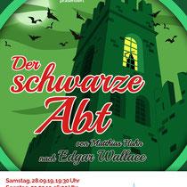"""Plakat-/Flyerdesign 2019 für die Theatergruppe """"TheaterOffenbarung"""", Berlin"""