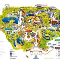 Parc Astérix - Plan de Visite