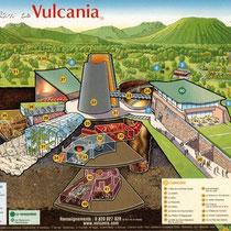 Vulcania - avant l'ouverture