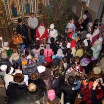 Праздник Рождества в 2011г.