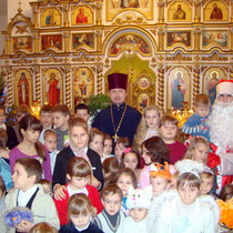 Праздник Рождества в 2013г.