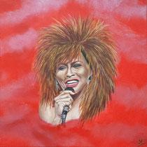 Tina Turner. Pure rock en roll. Niet aan tijd gebonden, hield Tina het, enthousiast en gedreven, tot op hoge leeftijd vol.  50/50  € 225