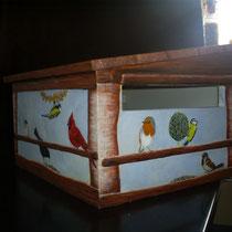 beschilderde brievenbus (niet te koop)