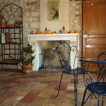 """chambre """"le Jardin""""  chambres d'hôtes coté jardin Villiers sur Loir"""
