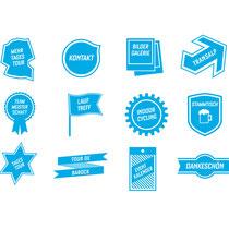 Übersicht Icons, für jeden Aktivitätsbereich steht ein Icon