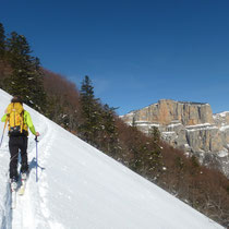 Ski de randonnée au cirque d'Archiane