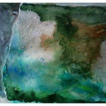 Schweden, Silver Canyon, Aquarell 40x60 cm