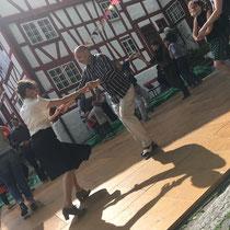 heuwender #32, Swing-Tanztee, Mai 2017