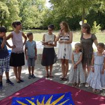Willkommensfeier für Luan, August 2018