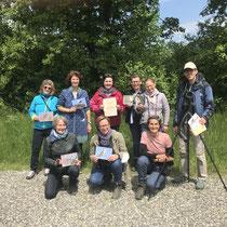 «Unsere Vögel» ornithologischer Basiskurs Gimpel, Abschlussexkursion, Mai 2021