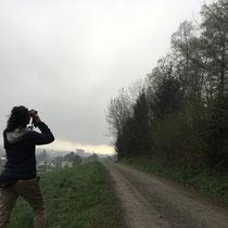 «50 Vögel» Vorexkursion mit Urs Heinz Aerni, April 2018