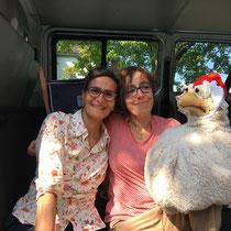 heuwender #33 mit Puppenspielerin Kathrin Bosshard, Sept. 2017