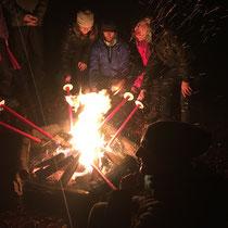 Ritual zur Wintersonnenwende, Dezember 2018
