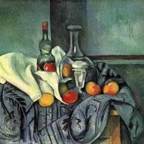 """Nature morte"", Paul Cézanne, 1893-1895,  huile sur toile, 65,7 × 82 cm, National Gallery of Art, Washington, Wikimédia Commons"