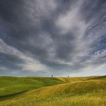 Der Himmel über der Toskana