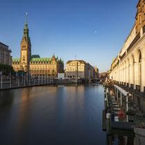 Rathaus & Alsterarkaden