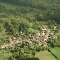 Vue aérienne de St Pardoux