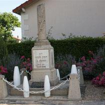 Monuments aux morts de Roussac
