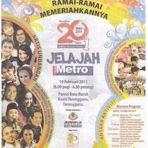 Harian Metro  18 February 2011