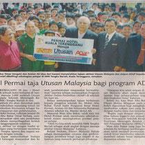 Utusan Malaysia  18 January 2011