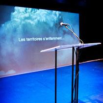 Dévoilement Zones Théâtrales 2011 ©photo Marianne Duval