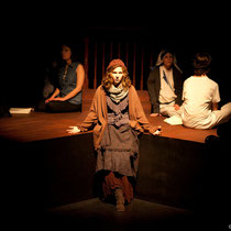 The Last Days of Judas Escariot - Drama Guild - University of Ottawa - 2014 - photo Théâtre: Marianne Duval