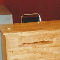 先生の机、ロッカー