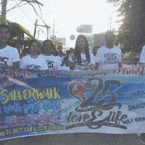 CCCM25周年パレード