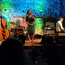 Jazz mit spirituellen Elementen, das Cécile Verny Quartett: Die Band hinterließ einen nachhaltigen Eindruck in Bahnbrücken