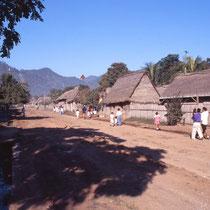 Traversée d'un village