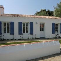 Location Beaulieu à Noirmoutier-en-l'île - Façade Nord, côté rue