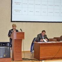 Выступает член ревизионной комиссии: Барановкая Н.А.