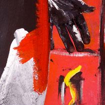 -1-B-Peinture sur corps-Photographie sur toile ou Plexiglas- 50x70-Ed limitée  10 exemplaires