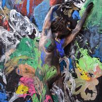 -2-M-Peinture sur corps-Photographie sur toile ou Plexiglas- 50x70-Ed limitée  10 exemplaires