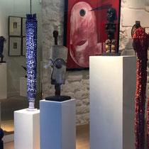 Dominique ZINKPE (Bénin) - Exposition Art Contemporain Africain - Paris Septembre 2017