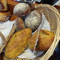 Le Pavé Briare, le pain servi au Brézoune