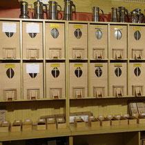 Les casiers en bois