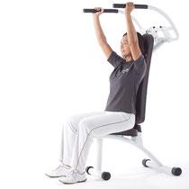 W-Move Trainingszirkel: Schulterpresse