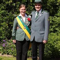 2012 - Kronprinzessin Nadja Miest und Lebensgefährte Sandro Frei