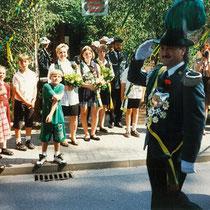 1995 Schützenkönig Manfred Thoms