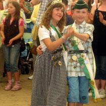 2008 - Kinderkönigspaar Vanessa Timm und Julian Renz
