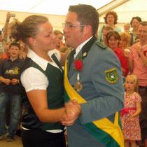 2007 - Kronprinzenpaar Jan-Eric Sauer und Tina Schmidt