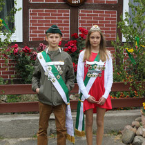 2013 - Kinderkönigspaar Lindsey Mücke und Marek Renz